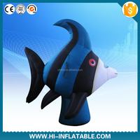 Outdoor advertising inflatable sea fish, inflatable replica sea animal cartoon