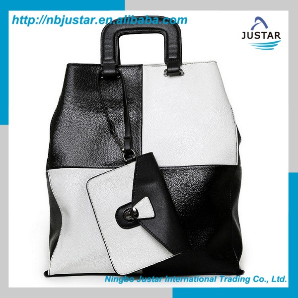 Latest Design Classic Handbags With Contrast Color Trendy Designer Bags Online Shopping