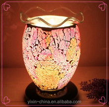 newly style wholesale antique electric oil Warmer lamp small decorative oil lamp mosaic fragrance lamp YXNY-23