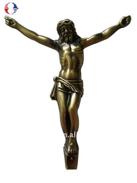 Brass Metal Jesus Figure