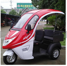 1000w 60v semi closed three wheel passenger vehicle electric passenger tricycle electric motorcycle