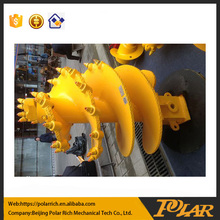 Best selling rock drilling augers double start double flight , drilling bucket spare parts