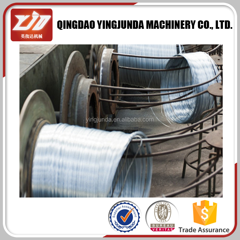 Yingjunda Stainless Steel Wire Rope Reel 6x24 Galvanized Steel Wire Rope Price
