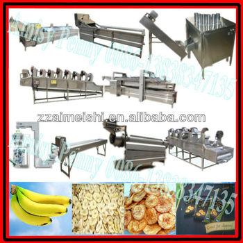 Ce automatique plantain puces machine de traitement chips de banane usine de fabrication - Machine a chips maison ...