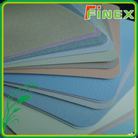 China commercial dry back anti-bacterial pvc hospital flooring
