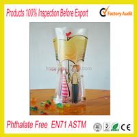 Cheap plastic foldable flower vase