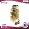 Long Lasting High Quality Two Tone Lace Wig With Baby Hair Human Hair Blonde Lace Front Wigs