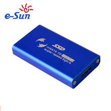 E-sun External high speed mSATA to USB3.0 SSD HDD case with crewdriver Color Blue
