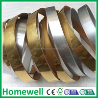 plywood aluminum edge banding for metal table