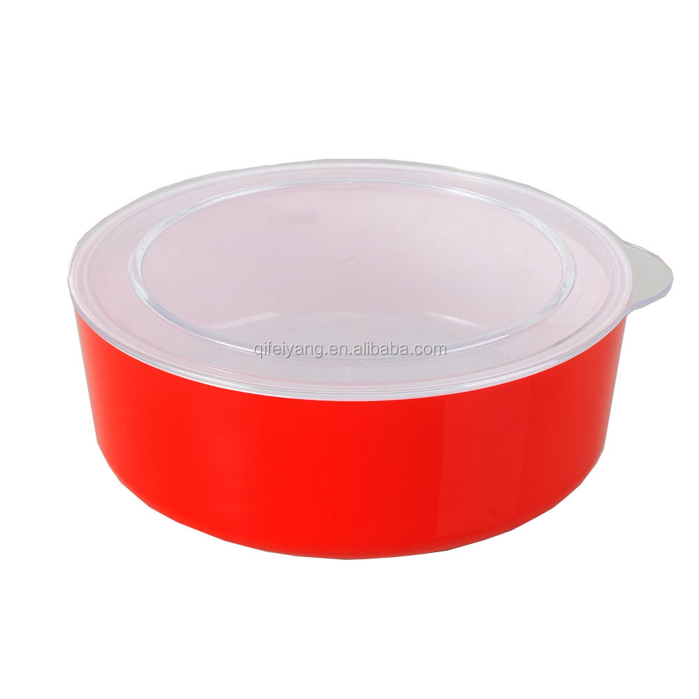 Red cheap price Food Container plsatic bowl with best quality