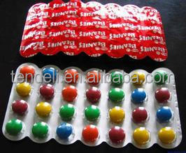 Pharmaceutical aluminium packaging foil for capsules