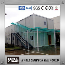 ISO,BV,SGS,UL,Certificates Light Steel Container Houses Modern Luxury Prefabricated Container Houses
