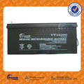 High performance Sealed battery 12v 200ah solar battery deep cycle gel battery