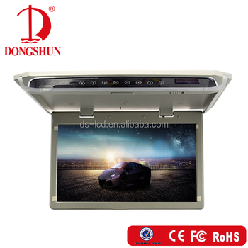 10.2/12.1/15.6 /17.3 '' Brand New LED Panel Overhead car flip down monitor with USB/HDMI