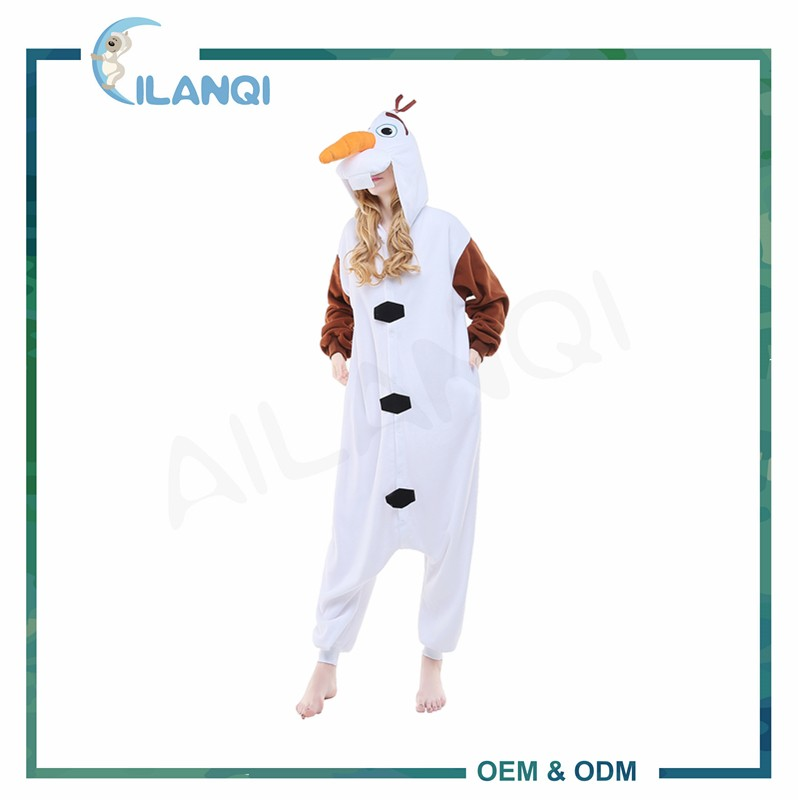 ALQ-A039 Anime character cosplay hooded costumes plus size onesie