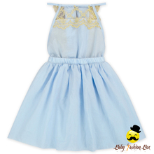 Kids Wear Dresses 2017 Baby Girl Party Dress Children Frocks Designs