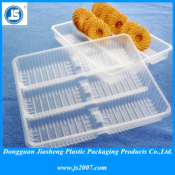 Pharmaceutical Blister Packaging Tray For Biscuit Macaroon, Soft Transparent PVC