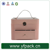 100% Quaqlity Mother'S Day Gift Cheap Custom Cosmetic Suitcase With Compartments Manufacture In China