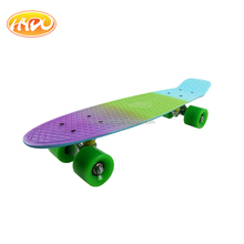 High quality 22 x 6 Inch Mini Cruiser plastic fish skateboard made in China