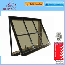 Elegant aluminium glass awning window