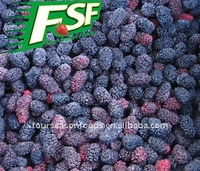 wholesale IQF/Frozen mulberries fruit in 2016, Chinese frozen vegetables
