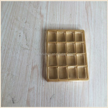 4 compartments plastic biscuit tray
