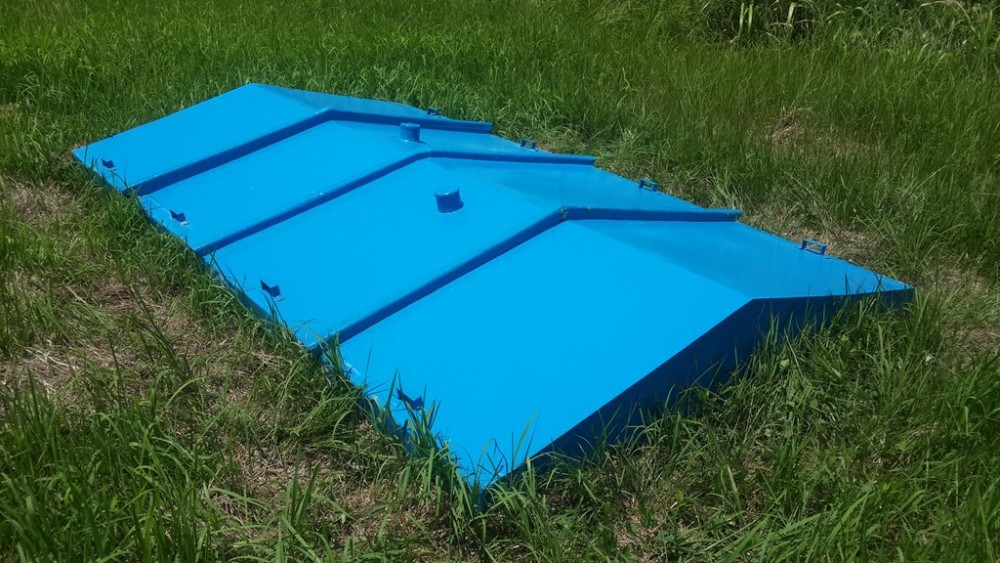 Fiberglass Cover Custom Made Water Proofing. Long Lasting
