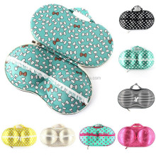 Promotional Fashion Bra eva case good looking portable travel bra case for gift