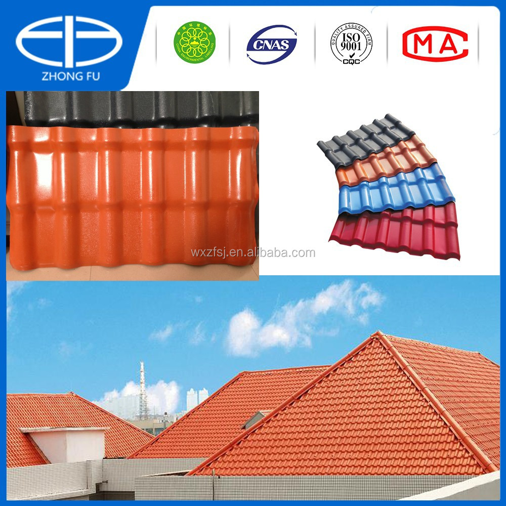 New plastic roof tile roof tile for roof system buy new for New roofing products