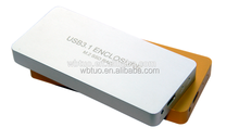 USB3.1 Type-C TO 2Ports M.2(NGFF) RAID SSD Enclosure