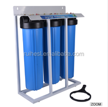 "3-Stage Whole House Water Filtration System/20"" big housing water filter"