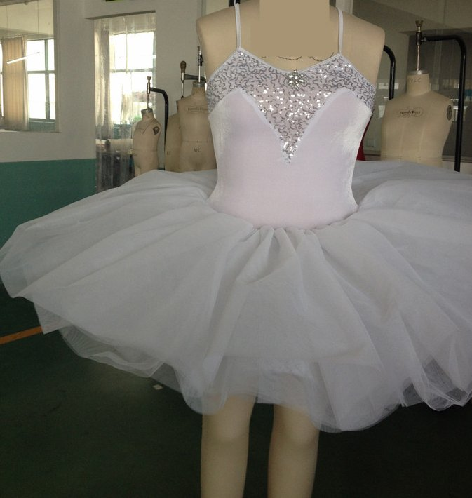 2015-girl lace flower long ballet dance costume dress - dashing women ballet dancewear -child&adult kid ballet dance tutu skirt