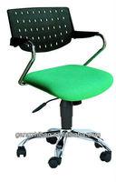 plastic swivel office chair trainning fabric chair AB-30