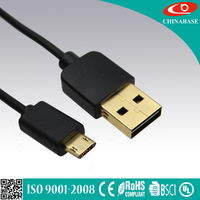 nylon braided midi to usb cable Double Reversible Micro USB