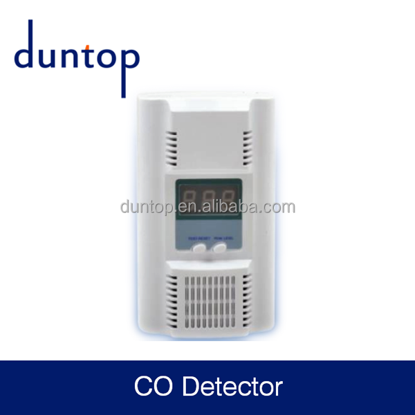 battery operated CO CARBON MONOXIDE detector with 85db sound buzzer alarm