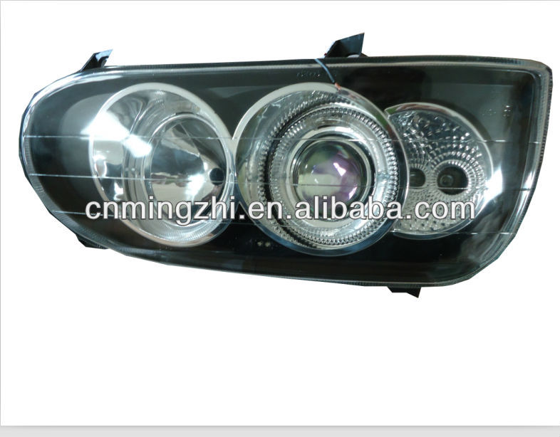 G-O-L-F 3 black head lamp with angle eyes