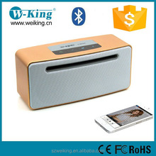 Hot Selling 2017 Amazon China Factory W-king Classical Heavy Bass Mobile Wireless Bluetooth Speaker For Phone Parts