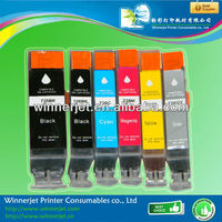 rechargeable ink cartridge for CLI-726 CANON PIXMA IP4870 MG5170 MG5270