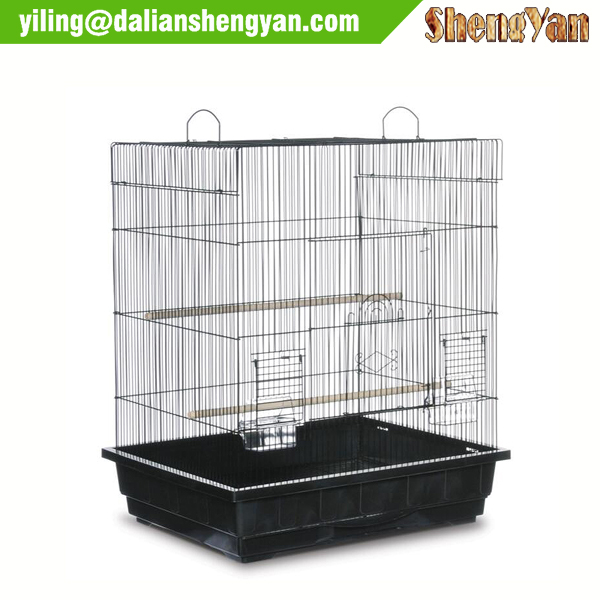 Cheap square top parakeet bird cage for sale