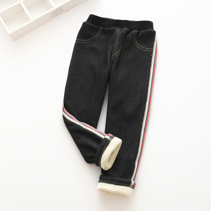 S52174A   Baby Kids Cute Denim Leggings Children Girls Pants