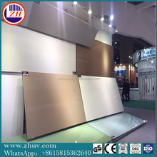 ZHIHUA factory price 1220*2440mm acrylic panel/perspex/PMMA Sheet