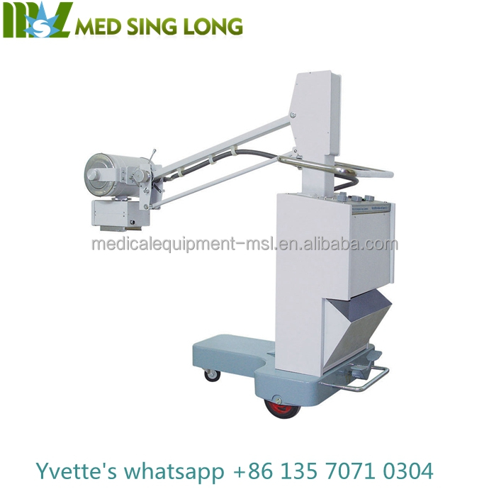 MSLPX08 Factory price 50mA Radiology Equipment x ray unit, Mobile digital x-ray machine