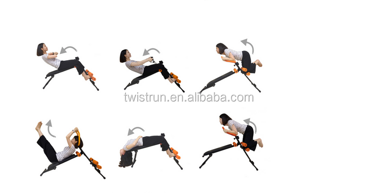 Power EXERCISE BENCH plank Dumbbell bench