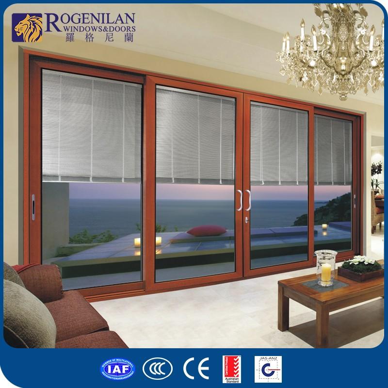 Rogenilan 120 4 Panel Sliding Balcony Cheap Used Exterior French