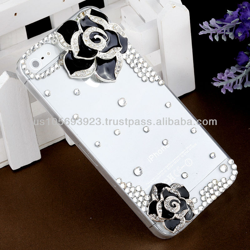 Handmake Diamond Crystal Bling Phone case for Iphone 5/5s