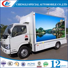 Forland 4*2 popular small led mobile stage truck for sale