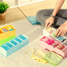 Underware drawer dividers closet socks colourful storage boxes