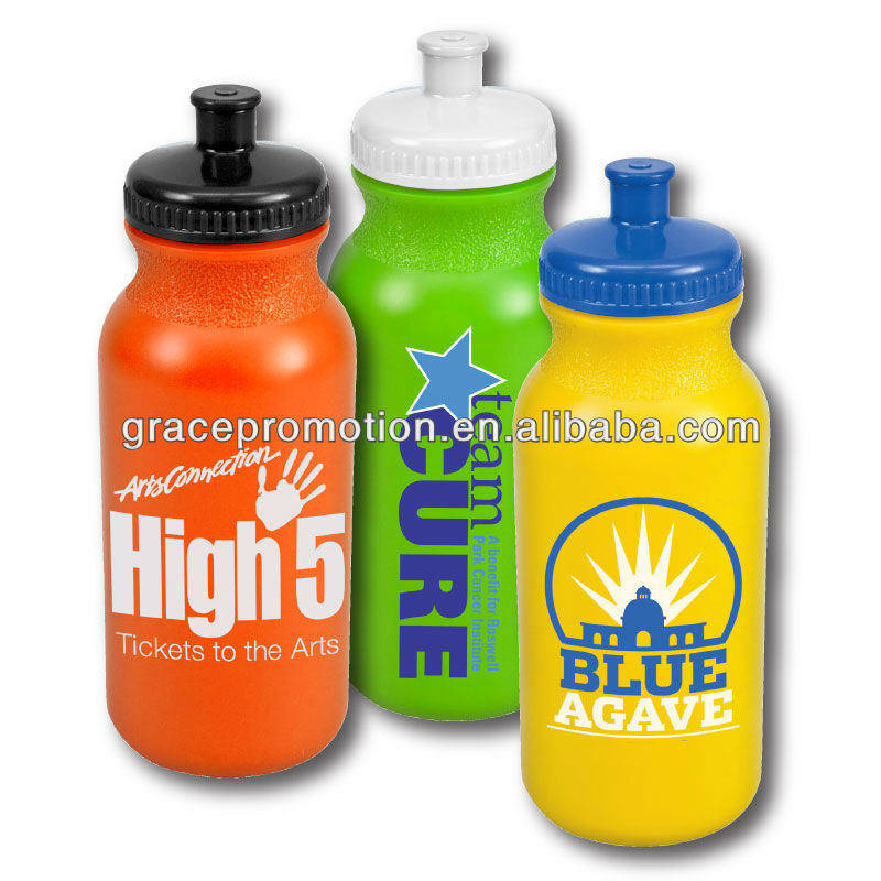 2017 new Sport Bottle with Push Pull Cap