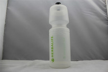 750ml clear soft bottle water detox/reusable food grade plastic squeeze bottles
