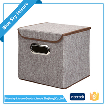 Wholesale Colorful PP Non-woven Decorative Waterproof Foldable Storage box Laundry Hamper
